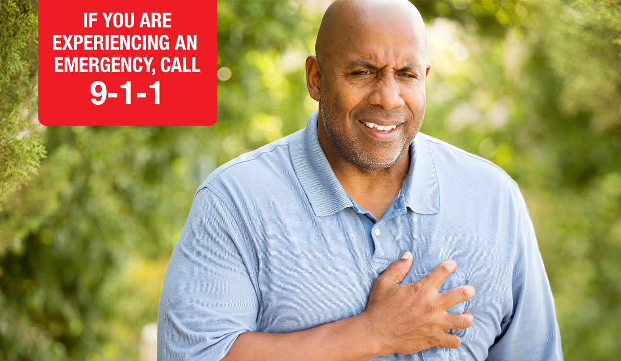 IF YOU'RE EXPERIENCING AN EMERGENCY, CALL 9-1-1