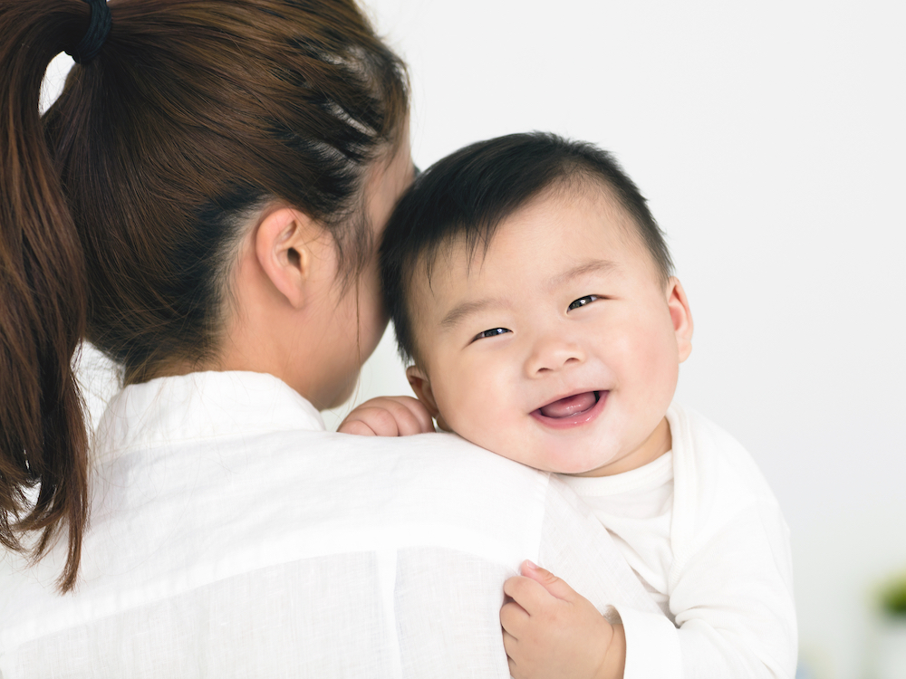 Smiling Baby for Baby Fair Release