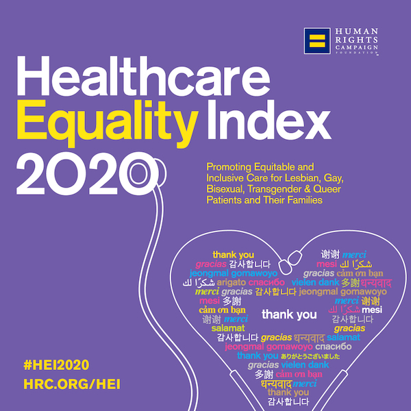 Healthcare Equality Leader 2020