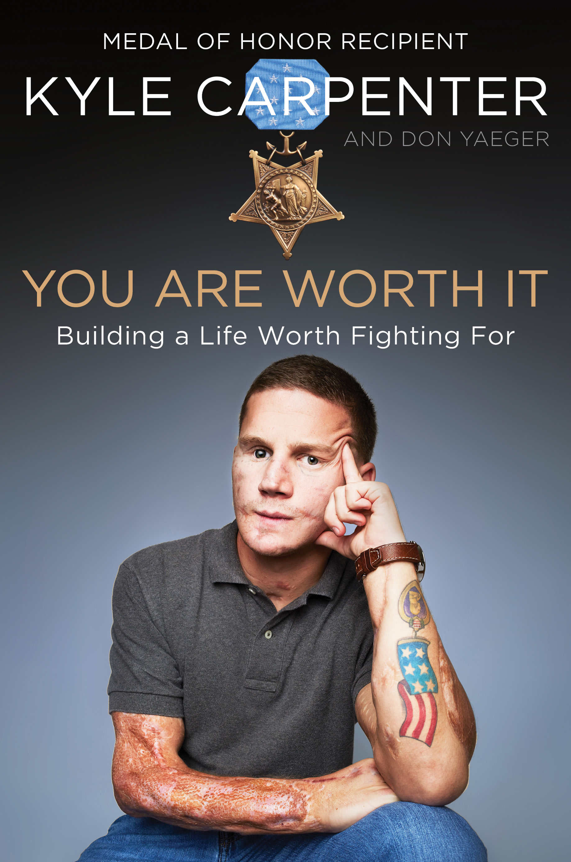 Book Cover—You Are Worth It by Kyle Carpenter