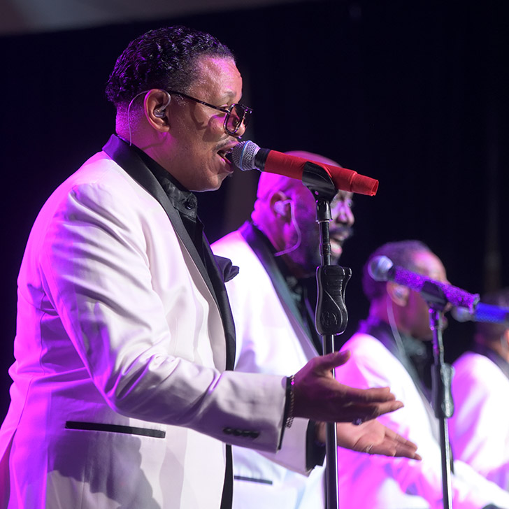 The Temptations at the Princeton Health Centennial Gala event
