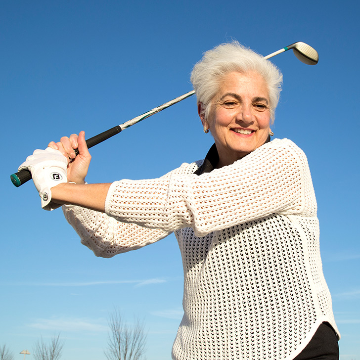 Golf Therapy by Outpatient Rehabilitation